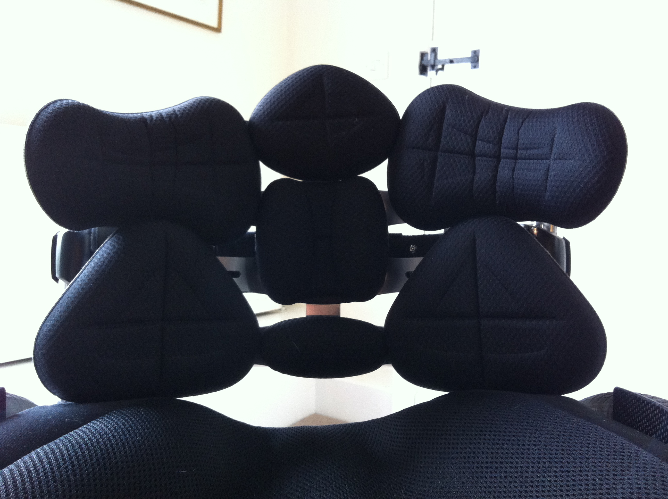 TARTA wheelchair backrest FRONT VIEW (Full Size)