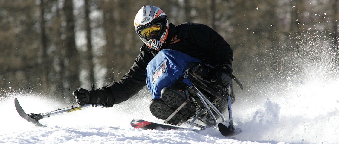 DisabledGear.com Buying guide on adaptive all ability sit skiing ski carting (Full Size)