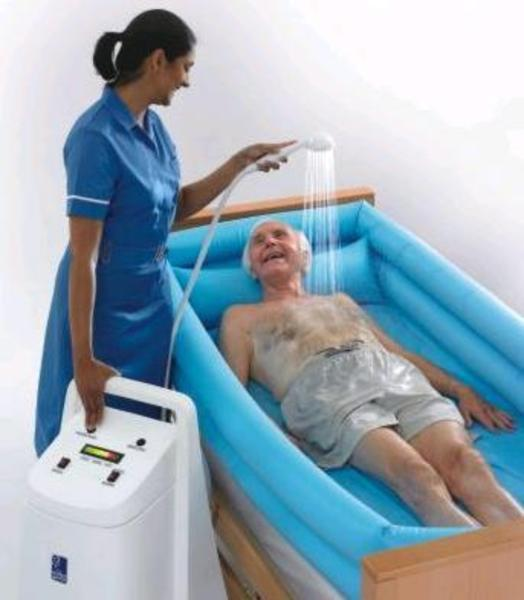 WATER GENIE GENIE CARE PORTABLE BATH FOR DISABLED