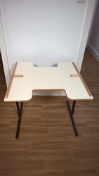 TFH CURVED TABLE FOR WHEELCHAIRS - click to zoom