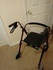 Roma walking aid rollator. Collect only