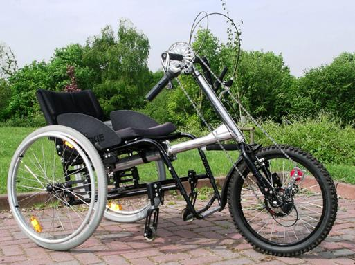 Coyote handbike (Full Size)
