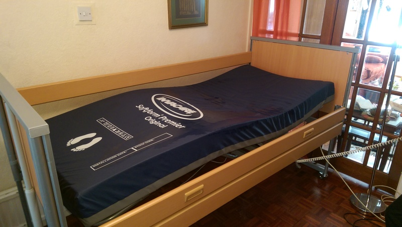 Low Profiling Invacare Bed Beds Buy Second Hand