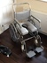 Collabsible/Travel TransAqua Stainless Steel Shower & Toileting Chair