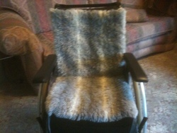 Wheelchair - soft back/seat cushions - click to zoom