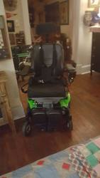New 2017 M300 Permobil Power Wheelchair - click to zoom