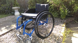 Bromakin Street Classic wheelchair - click to zoom