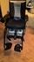Electric powered indoor/outdoor wheel chair