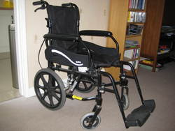 Soma Manual Wheelchair - click to zoom