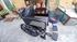 Black folding wheel chair