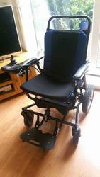 FOLDING ELECTREIC WHEELCHAIR - click to zoom