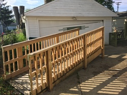 Wheelchair Ramp - click to zoom