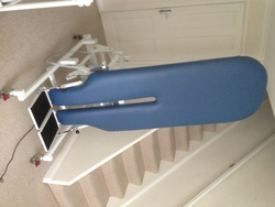 TILT TABLE (METRON/ELECTRIC) NEUROLOGICAL AND BRAIN INJURY REHABILITATION PHYSIO - click to zoom