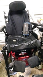 Quickie Salsa M Wheelchair - click to zoom