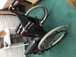 Pro rider self propel wheelchair  - click to zoom