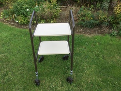 Two Tier Wheeled Trolley - click to zoom