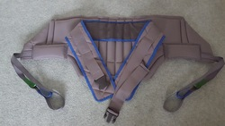 Invacare Stand Aid Patient Hoist SLING - LARGE - click to zoom