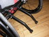 Wheelchair anti-tip bars for Kuschall R33