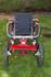 Red boma off road wheelchair - click to zoom