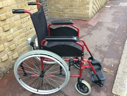 Manual wheelchair - click to zoom