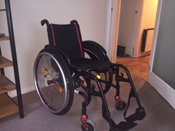 Sunrise Medical Quickie Wheelchair - click to zoom