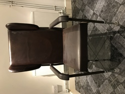 High backed chair with height adjustment  - click to zoom
