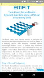 Emfit epilesy bed slarm - click to zoom