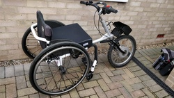 Team Hybrid Viper powered cycle & Draft EDM manual wheelchair (+ more!) - click to zoom