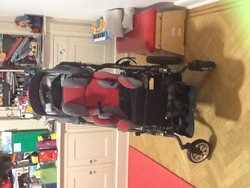 Wheel chair pushchair - click to zoom