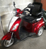 ZTech 3 wheeled Red mobility scooter
