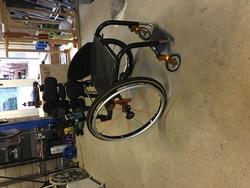 Ti Lite Wheelchair  - click to zoom