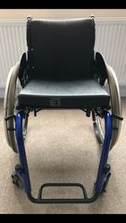 --- KUSCHALL VERY LIGHTWEIGHT WHEELCHAIR --- a title for your listing - click to zoom
