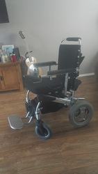 "Yogi Folding Power Chair 12"" - Adventure Power Wheelchair  - click to zoom"