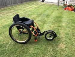 Panthera Child's Wheelchair & Free Wheel - click to zoom