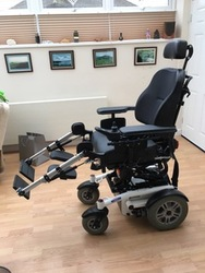 LUCA Powered Wheelchair - click to zoom