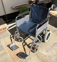 Roma 1430 Standard Transit wheelchair - click to zoom