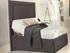 MiBed, headboard, mattress and protector b
