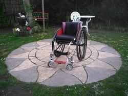 RGK Maxilite Titanium Wheelchair - click to zoom
