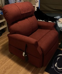 Power lift recliner brand-new - click to zoom