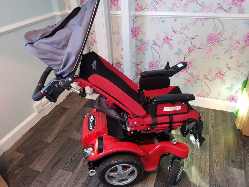 Childrens Electric wheelchair Mustang : big electric wheelchair - Cheerinfomania.Com