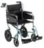 Patterson Medical Days Escape Lite Aluminium Wheelchair, Silver Blue - Standard