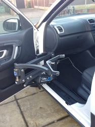 Autochair Milford Disabled Person Car/Van/Motorhome Lift - click to zoom