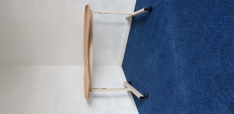 Kidney Shaped Wheelchair/Armchair Table - REDUCED PRICE ...