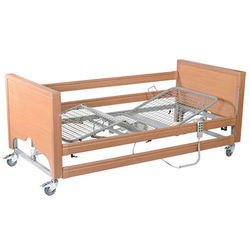 Hospital Style Bed with extra side rails and Waterproof Mattress. - click to zoom