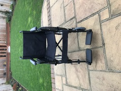 Wheelchair - fits in car boot - click to zoom