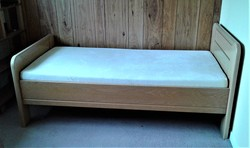 3 section adjustable profiling single bed - click to zoom