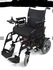 As new sirocco electric folding wheelchair