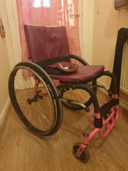 Ultra Light Active Wheelchair DaVinci Rigid & Folding!Add a title for your listing - click to zoom