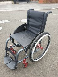 Invacare Kuschall Ultra Light Active Folding Wheelchair - click to zoom