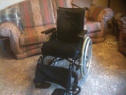 Invacare Action3 Collapsible Wheelchair  - click to zoom